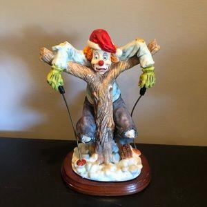Other - Ceramic skier clown